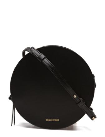 Galax Round Evening Bag Bags Small Shoulder Bags/crossbody Bags Svart ROYAL REPUBLIQ