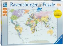 CITO Puzzle world map 500pcs