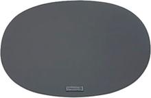 Örskov - Rubber Tablett Oval 35x48 cm Svart