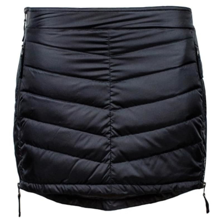Skhoop Mini Down Skirt Dam Kjol Svart M