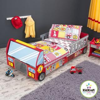 Kidkraft Fire truck barn sängkläder Kidkraft