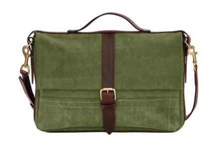 Oscar Borgström Laptop väska – Svart läder