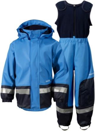 Boardman Kids Set Sharp Blue Fodrat Regnset Barn, Didriksons