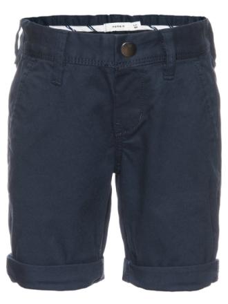 Allan Chino Long Shorts Mini Dress Blues, Name It