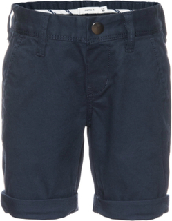 Allan Chino Long Shorts Mini Dress Blues, Name It