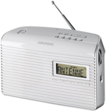 Bærbar radio Music 61 - Mono - Hvit