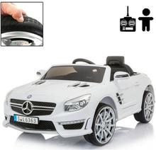 Rull Elbil - Mercedes Sl63 12V - Vit