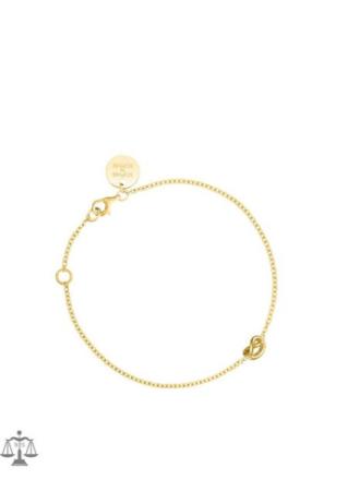 SOPHIE By SOPHIE Knot Bracelet Gull