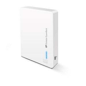 GP 302 Portable PowerBank White 12000mAh