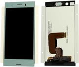 Sony visar LCD komplett enhet för Xperia XZ1 dubbl