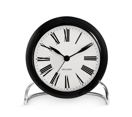 Arne Jacobsen Roman,Table Clock med alarm