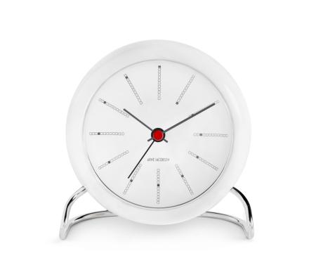 Rosendahl Arne Jacobsen Bankers, Table Clock med alarm