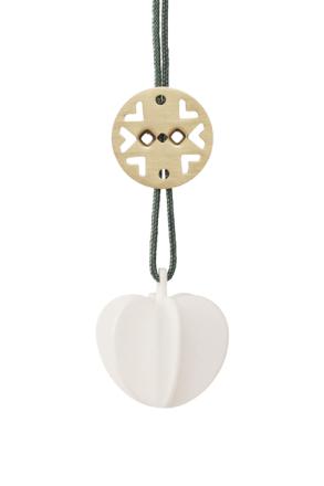 Stelton Hjerte mini Keramikk B: 3 H: 4 cm