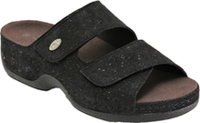 Embla Damsandal Light Black Slipin