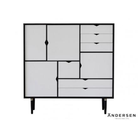Andersen Furniture S3 Naturoljet Valnøtt / Hvit