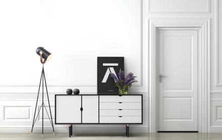 Andersen S6 Sideboard Naturoljet Valnøtt / Hvit