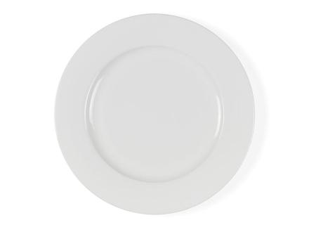 Bitz Flat tallerken Ø 27 cm hvit