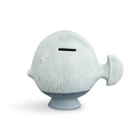 Kähler Sparedyr Mint Fisk H 16 B 10 cm