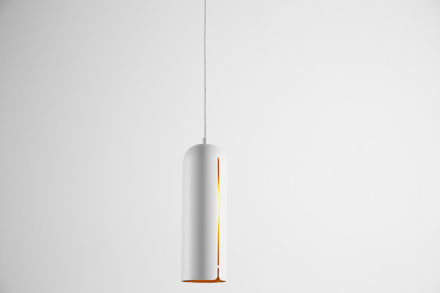 Gap pendant, tall white