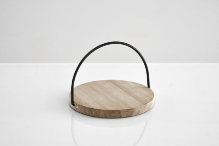 Woud Loop tray small, black
