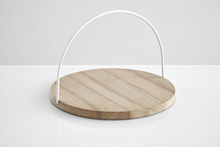 Woud Loop tray large, white