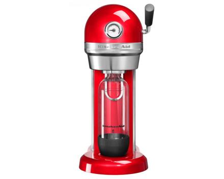 KitchenAid Artisan Kullsyremaskin Rød