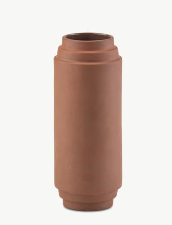 Skagerak Edge Vase 25 cm Terracotta