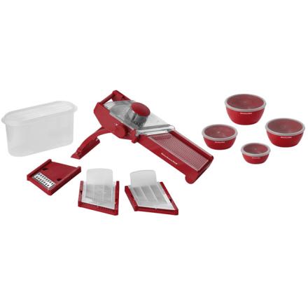 KitchenAid Mandolinjern Rød