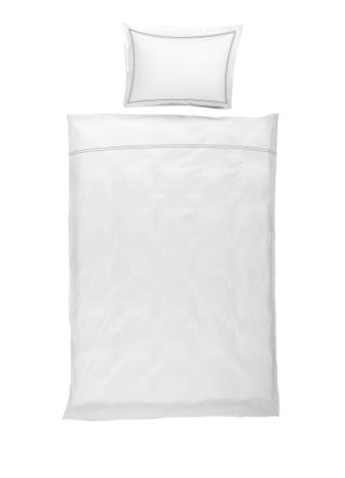 Borås Cotton Sengesett Lux 140 x 200 / 50 x 70 Charcoal