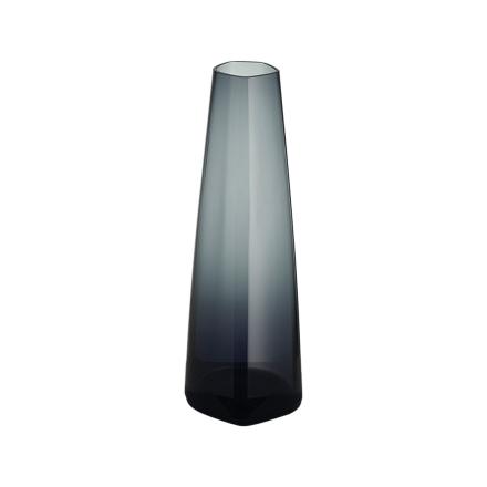 Iittala X Issey Miyake Glassvase Mørkegrå 180 mm