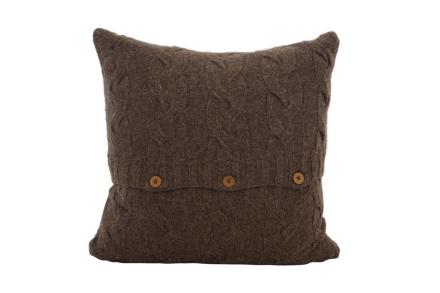 Borås Cotton Putetrekk Mont Blanc 50 x 50 Chocolate