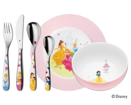 WMF Disney® Prinsesse barneservise-sett 6 deler