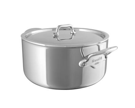 Mauviel Cook Style gryte med stållokk stål - 3,3 liter