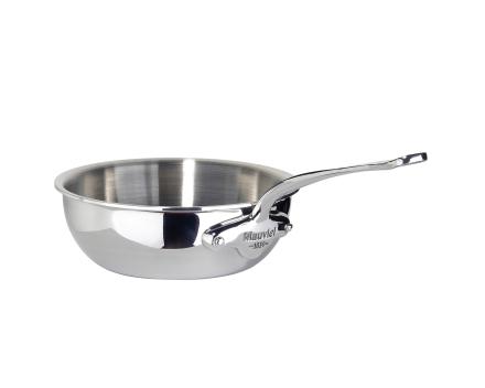 Mauviel Cook Style sautépanne buttet stål - 0,8 liter