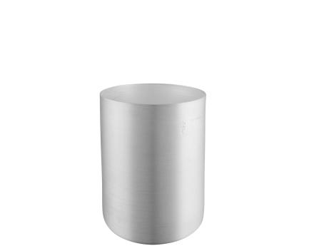 Mauviel Redskapskrukke børstet aluminium - 12 cm