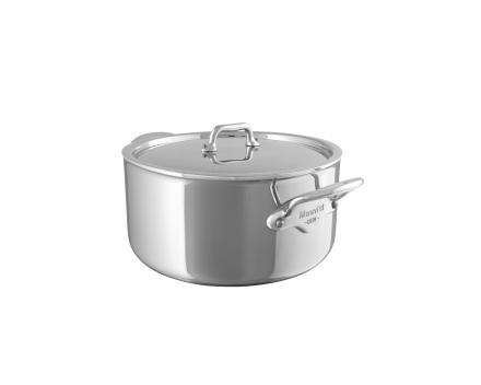 Mauviel Cook Style gryte med stållokk stål - 0,7 liter
