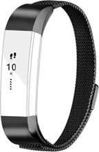 Fitbit Alta milanese stainless steel watch band - Black