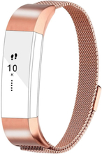 Fitbit Alta milanese stainless steel watch band - Rose Gold