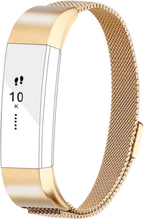 Fitbit Alta milanese stainless steel watch band - Gold