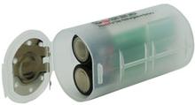 Batteri Adapter från storlek AA till D