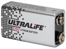 9 Volt Brandvarnarbatteri Lithium