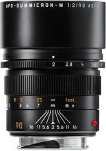 Leica M 90/2,0 APO-Summicron ASPH. Svart (11884), Leica
