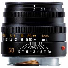 Leica M 50/2,0 Summicron Svart (11826), Leica