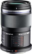 Olympus M.Zuiko Digital ED 60/2,8 Macro Svart, Olympus