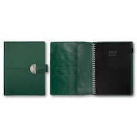 Business A5 konstläder grön