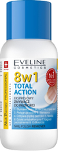 Eveline Nail Therapy 8in1 Total Action Nail Polish Remover 150 ml