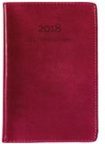 Lilla Fickdagboken konstläder Röd - 3257