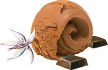 Choklad gräddglass SIA Glass