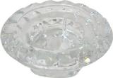 Ljusstake glas 90x45 Ingrid