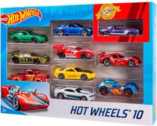 Hot Wheels 10-Bil Pakke